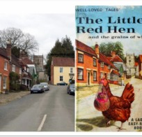 From sleepy village street to Ladybird cover picture